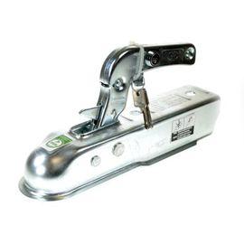 Maypole 50mm Coupling Hitch & Integral Lock (pressed Steel) Bk