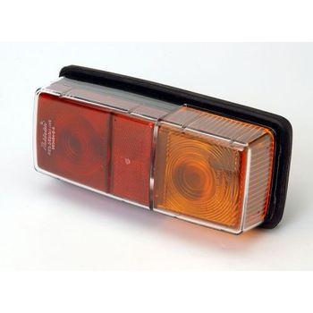 Maypole Awsl Lens 1371 For Trucklite 12v Combi Lamp 61/60