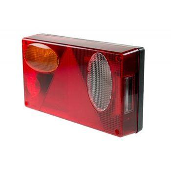 Maypole Trucklite Rear Horiz L/h + Rev Combination Lamp