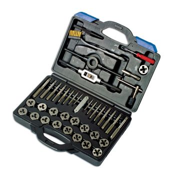 Laser Tools Tap & Die Set 40pc