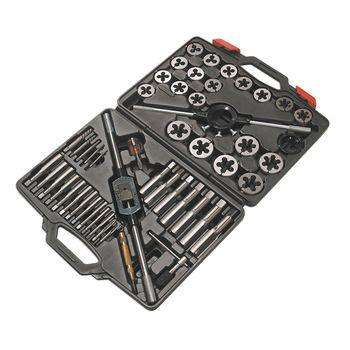 Laser Tools Metric Tap & Die Set 51pc