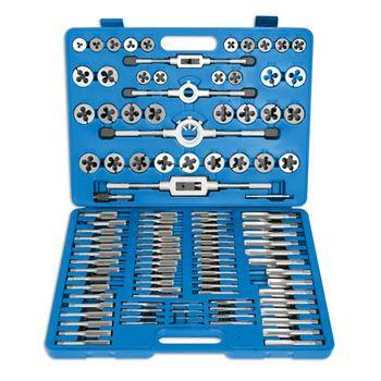 Laser Tools Metric Tap & Die Set 110pc
