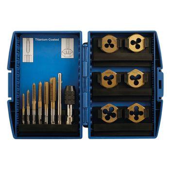Laser Tools Tap & Die Set 13pc