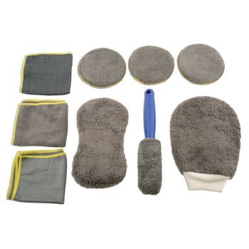 Laser Tools Microfibre Cleaning Kit - 9pc