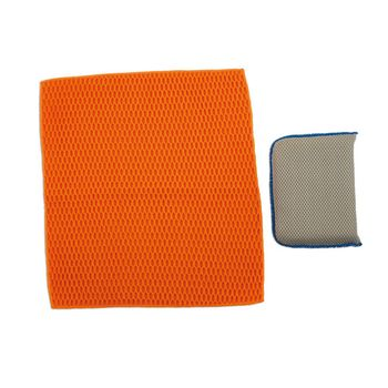 Laser Tools Sponge and Cloth Pack 2pc