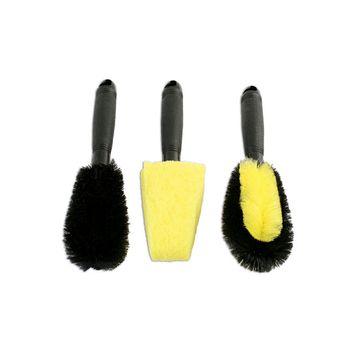 Laser Tools Wheel Brush Set 3pc