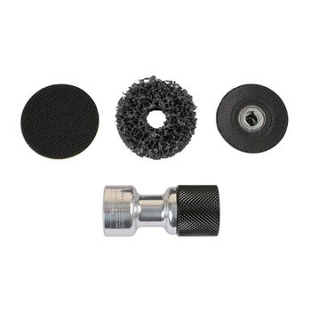 """Laser Tools Abrasives Adaptor Set - 1/2""""D"""