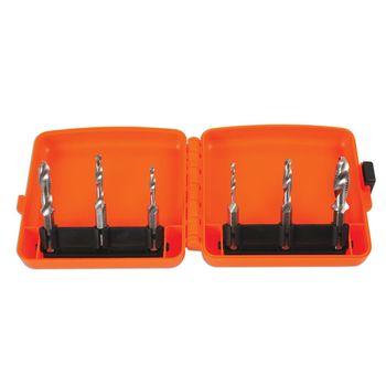 Laser Tools Drill Tap/Deburr Bit Set 6pc