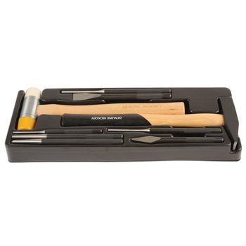Laser Tools Hammer and Chisel Kit 9pc