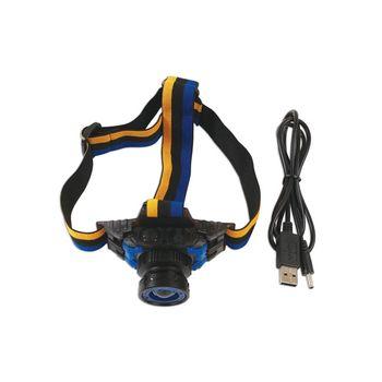 Laser Tools Rechargeable Headlight Torch - 3 Watt