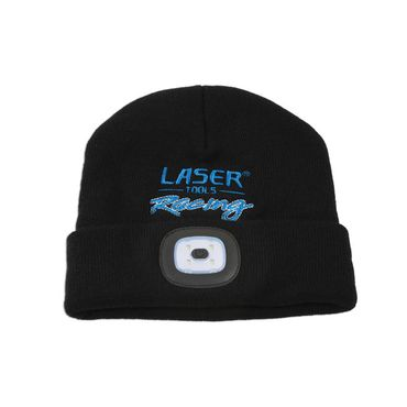 Laser Tools Laser Tools Racing Beanie Hat with Rechargeable Lamp