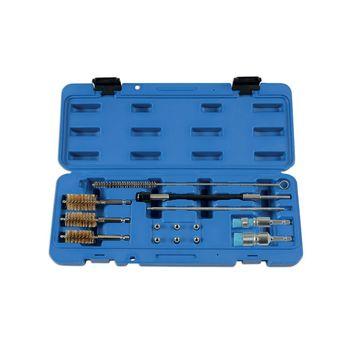 Laser Tools Diesel Injector Seat Cleaner Set 14pc