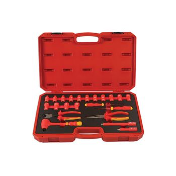 """Laser Tools Insulated Tool Kit 3/8""""D 22pc"""