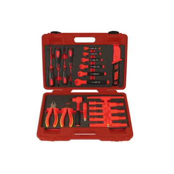 """Laser Tools Insulated Tool Kit 3/8""""D 25pc"""