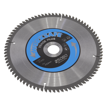 Aluminium Cutting TCT Saw Blade Ø250 x 30mm - 80tpu