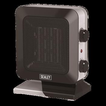 Ceramic Fan Heater 1400W/230V 2 Heat Settings
