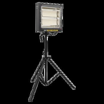 Ceramic Heater with Telescopic Tripod Stand 1.2/2.4kW - 110V