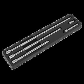 Wobble Extension Bar Set 5pc 1/2