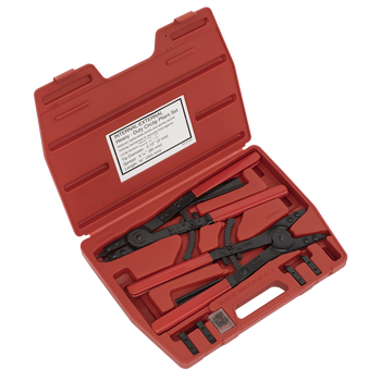 Circlip Pliers Set Internal/External 400mm Heavy-Duty