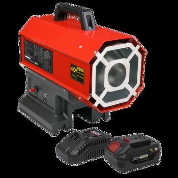 2-in-1 Cordless/Corded Space Warmer® 30,000-68,000Btu/hr (9-20kW) Propane Heater Kit