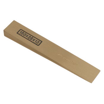 Wedge 150 x 25 x 13mm - Non-Sparking