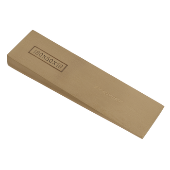 Wedge 180 x 50 x 19mm - Non-Sparking