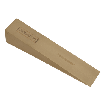 Wedge 200 x 40 x 40mm - Non-Sparking