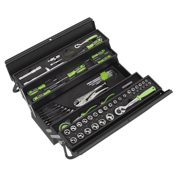 Cantilever Toolbox with 86pc Tool Kit